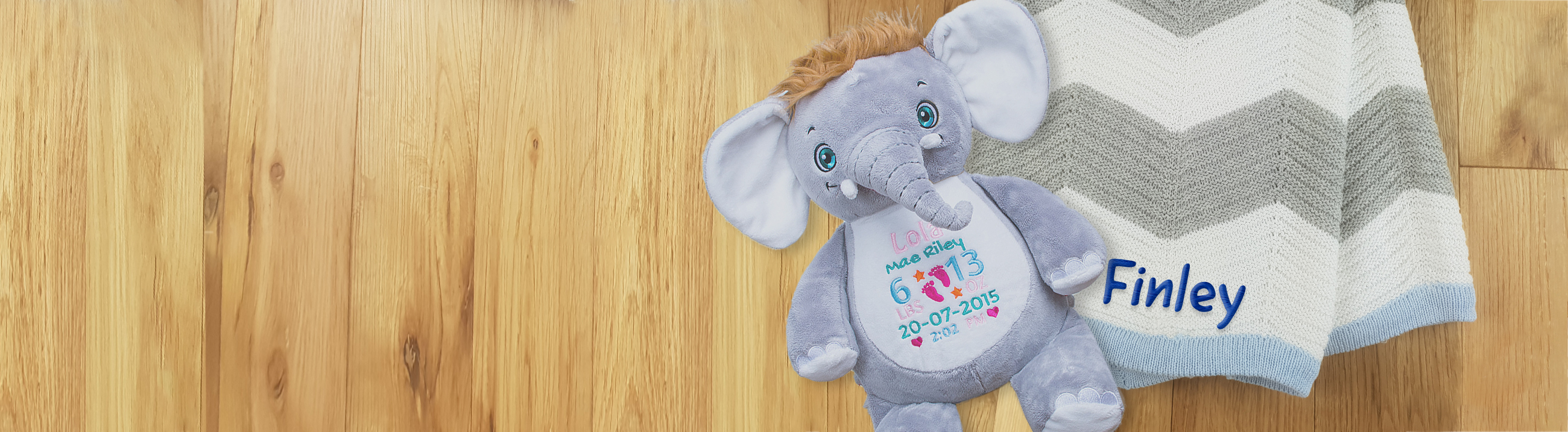 Kids Club Personalised Blankets, Teddies and more