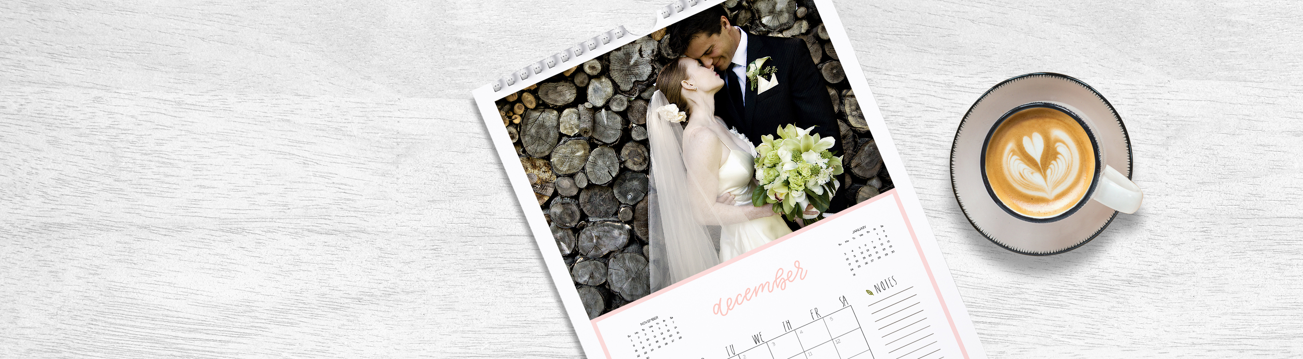 Custom personalised calendars